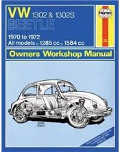 VW Beetle 1302 & 1302S 1970 - 1972 Haynes Owners Service & Repair Manual