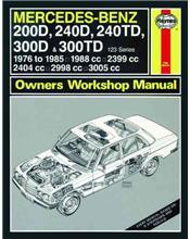 Mercedes-Benz 200D, 240D, 240TD, 300D & 300TD (W123) 1976 - 1985
