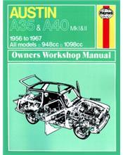 Austin A35/A40 Mk I & II 1956 - 1967 Owners Workshop Manual