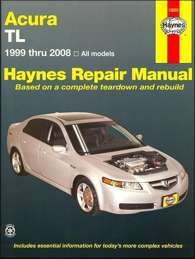 Acura TL (Honda Accord) 1999 - 2008 Haynes Owners Service & Repair Manual