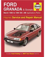 Ford Granada & Scorpio Petrol 1985 - 1994 Haynes Owners Service & Repair Manual