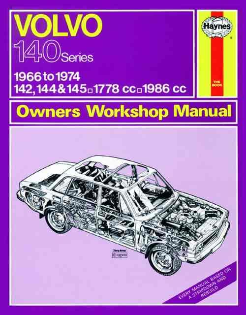 Volvo 142, 144 & 145 1966 - 1974 Haynes Owners Service & Repair Manual