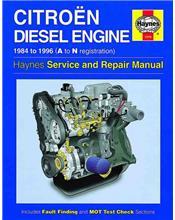 Citroen 1.7 litre & 1.9 litre Diesel Engine 1984 - 1996