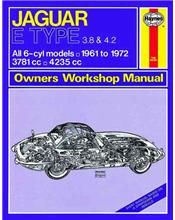 Jaguar E-Type (Petrol) 1961 - 1972 Haynes Owners Service & Repair Manual