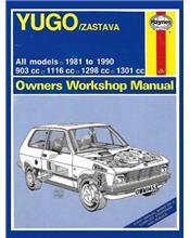 Yugo / Zastava 1981 - 1990 Haynes Owners Service & Repair Manual