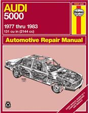 Audi 5000 (Petrol) 1977 - 1983 Haynes Owners Service & Repair Manual