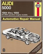 Audi 5000 (Petrol) 2WD 1984 - 1988 Haynes Owners Service & Repair Manual