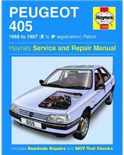 Peugeot 405 Petrol 1988 - 1997 Haynes Owners Service & Repair Manual