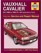 Vauxhall / Cavalier (Petrol) 1988 - 1995 Haynes Owners Service & Repair Manual