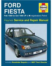 Ford Fiesta Petrol 1989 - 1995 Haynes Owners Service & Repair Manual