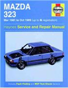 Mazda 323 1981 - 1989 Haynes Owners Service & Repair Manual