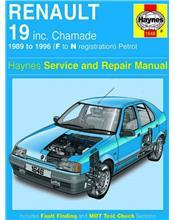 Renault 19 & Chamade Petrol 1989 - 1996 Haynes Owners Service & Repair Manual