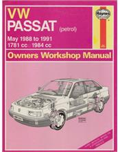VW Passat (Petrol) 1988 - 1991 Haynes Owners Service & Repair Manual