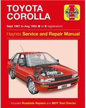 Toyota Corolla 1987 - 1992 Haynes Service and Repair Manual