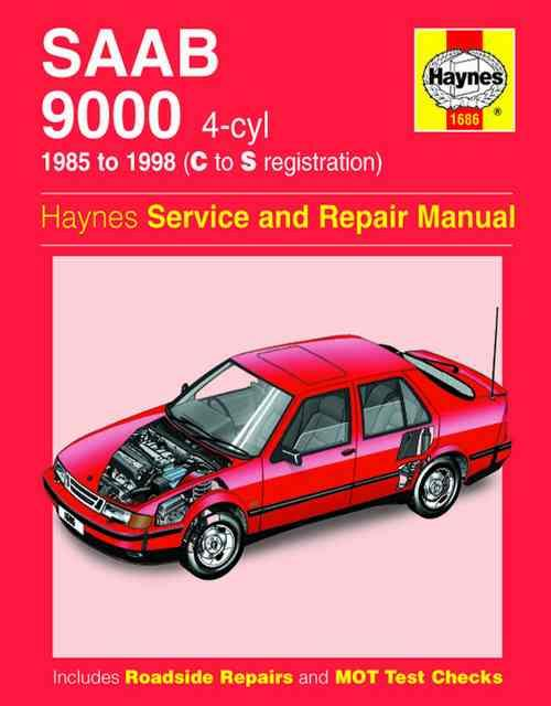 Saab 9000 4 Cylinder 1985 - 1998 Haynes Owners Service & Repair Manual