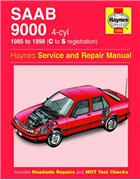Saab 9000 4 Cylinder 1985 - 1998 Haynes Owners Service & Repair Manual - Front Cover