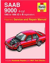 Saab 9000 4 Cylinder 1985 - 1998 Haynes Owners Service & Repair Manual