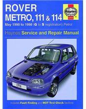 Rover Metro, 111 & 114 Petrol 1990 - 1998