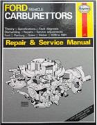 Ford Vehicle Carburettors Repair & Service Manual