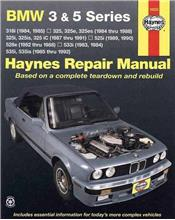 BMW 3 & 5 Series 1982 - 1992 Haynes Repair Manual