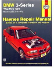BMW 3 Series & Z3 1992 - 1998 Haynes Owners Service & Repair Manual