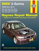 BMW 3-Series 2006 - 2014 Haynes Owners Service & Repair Manual - Front Cover