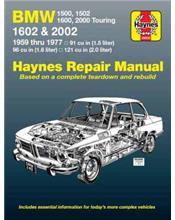 BMW 1500, 1502, 1600, 1602, 2000 & 2002 1959 - 1977