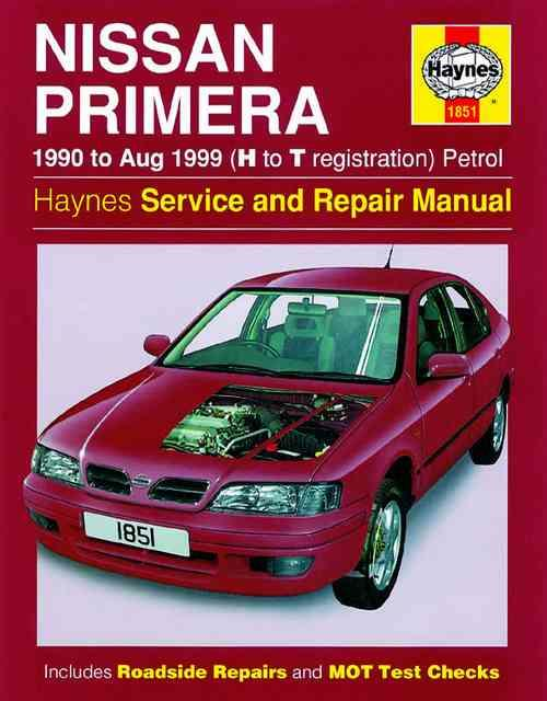 Nissan Primera Petrol 1990 - 1999 Haynes Owners Service & Repair Manual