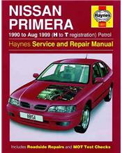 Nissan Primera Petrol 1990 - 1999 Haynes Owners Service & Repair Manual