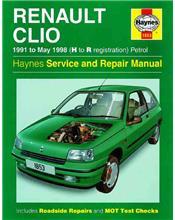 Renault Clio Petrol 1991 - 1998 Haynes Owners Service & Repair Manual