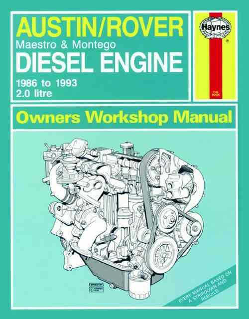 Austin/Rover 2.0 litre Diesel Engine 1986 - 1993 - Front Cover