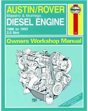 Austin/Rover 2.0 litre Diesel Engine 1986 - 1993