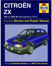 Citroen ZX Petrol 1991 - 1998 Haynes Owners Service & Repair Manual