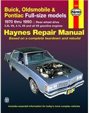 Buick, Oldsmobile & Pontiac Full-Size (RWD) 1970 - 1990