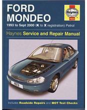 Ford Mondeo Petrol 1993 - 2000 Haynes Owners Service & Repair Manual
