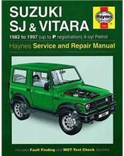 Suzuki SJ Sierra, Samurai and Vitara Series (Petrol) 1982 - 1997