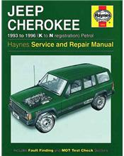 Jeep Cherokee Petrol 1993 - 1996 Haynes Owners Service & Repair Manual