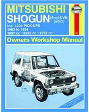 Mitsubishi Shogun (Pajero) & L200 Pick-ups 1983 - 1994