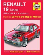 Renault 19 & Chamade Diesel 1989 - 1996 Haynes Owners Service & Repair Manual