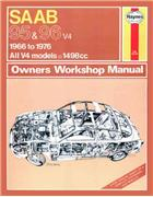 Saab 95 & 96 1966 - 1976 Haynes Owners Service & Repair Manual - Front Cover
