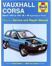 Vauxhall / Corsa (Petrol) March 1993 - 1997