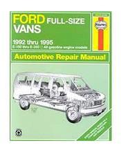 Ford Full Size Vans 1992 - 1995 Haynes Owners Service & Repair Manual