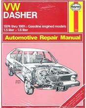 Volkswagen Dasher 1974 - 1981 Haynes Owners Service & Repair Manual