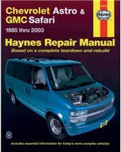 Chevrolet Astro, GMC Safari Minivan 1985 - 2003