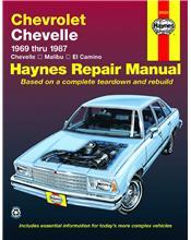 Chevrolet Chevelle, Malibu & El Camino 1969 - 1987