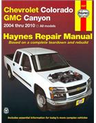 Chevrolet Colorado GMC Canyon 2004 - 2010 Haynes Owners Service & Repair Manual