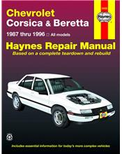 Chevrolet Corsica & Beretta 1987 - 1996 Haynes Owners Service & Repair Manual