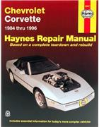 Chevrolet Corvette 1984 - 1996 Haynes Owners Service & Repair Manual - Front Cover