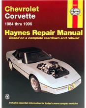 Chevrolet Corvette 1984 - 1996 Haynes Owners Service & Repair Manual