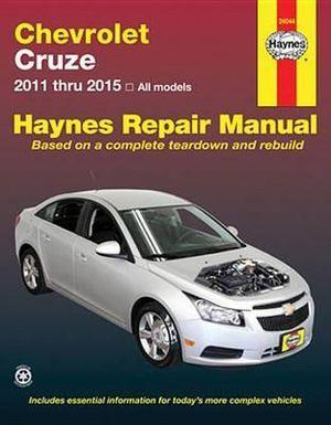 Chevrolet Cruze 2011 - 2015 (USA) Haynes Owners Service & Repair Manual